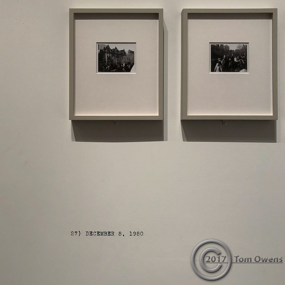 B&W polaroids by Wim Wenders thay Lennon was shot and killed