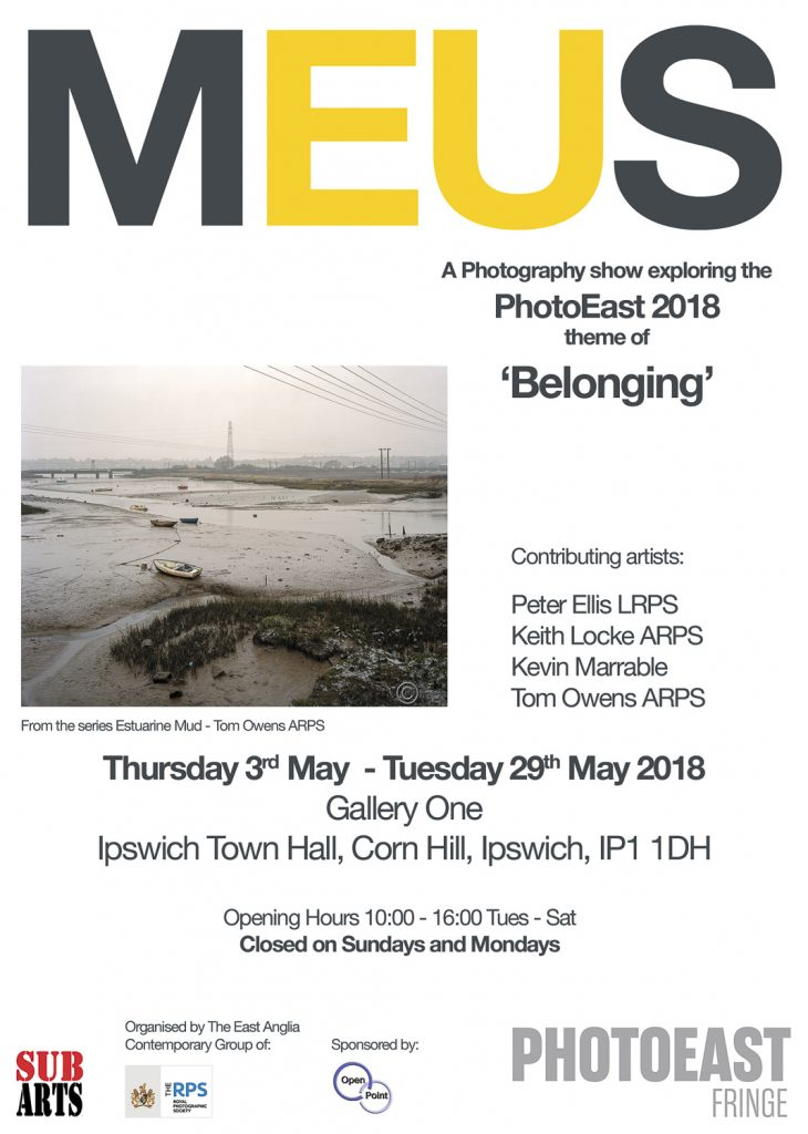 MEUS exhibition poster PhotoEast2018